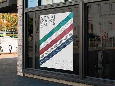 ATYPI London 2014 Poster Design