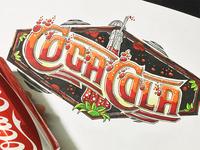 Coca Cola letters