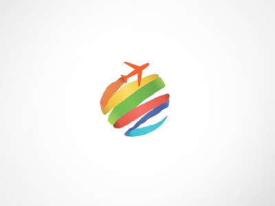 eBooking Travel Logo Template by Web Design Label on Dribbble