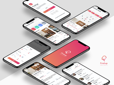 Findup - Startup business design agile design systems ideation research ios sketch app design sprint app ui ux startup business