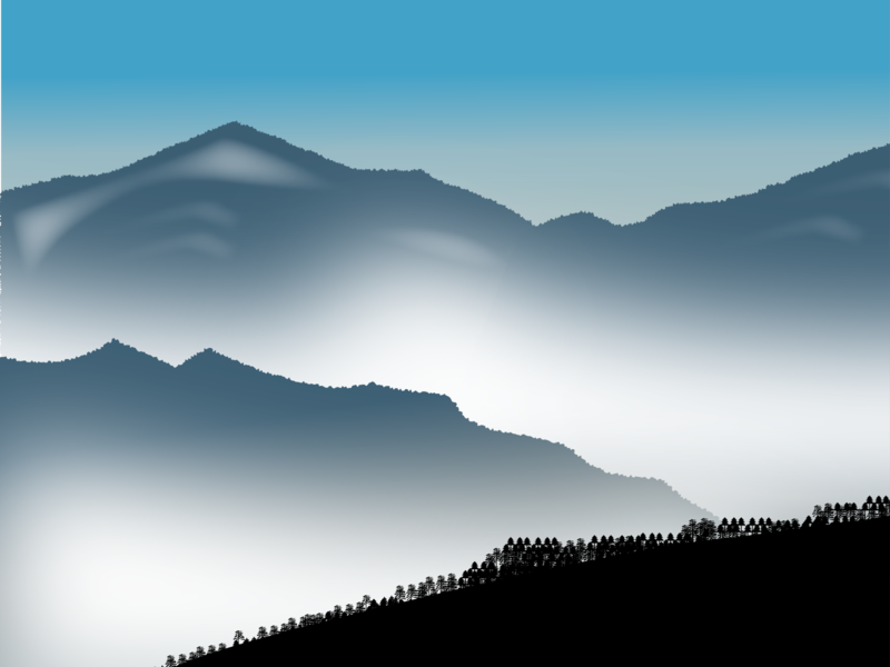 Fog in Mountines
