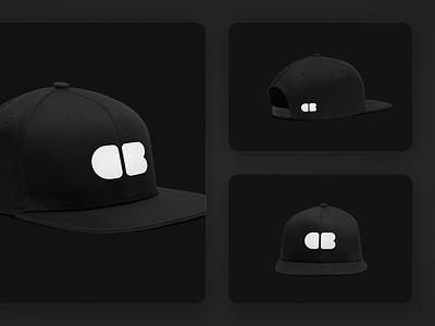 Personal Branding Exploration - Snapback fashion minimalist minimal dark black cap logo exploration branding personal letter b c snapback