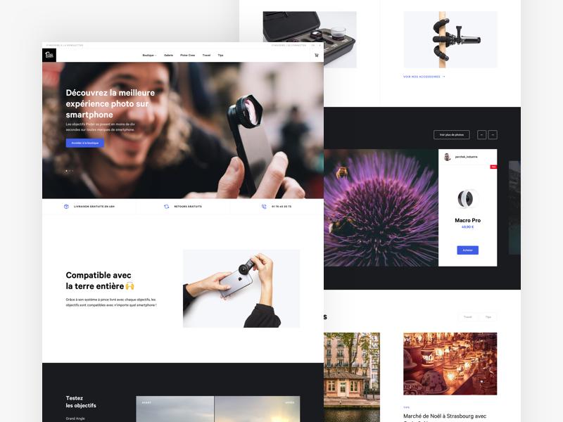 Pixter   homepage   desktop 2x