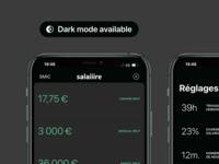 Dark mode is here on Salaiiire! 🌒