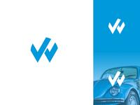 VW Volkswagen Logo Rebound