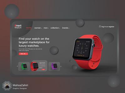 Website uidesign webdesign website design smartwatch ux design uidesigner photoshop xd design uxdesign uiux ui  ux uidesing ui ux design