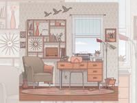 1950's Room