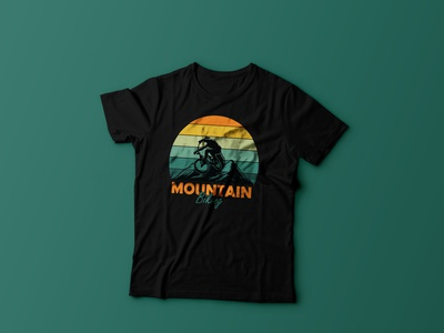 Mountain Biking t shirt design colors minimalist bike vintage design bulk t-shirt adventure mountain typography custom tshirt tshirtdesign tshirts tshirt