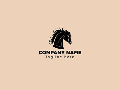 Horse icon Logo horse logo horse brand branding design minimal minimalist minimalist logo logofolio logodesign logo
