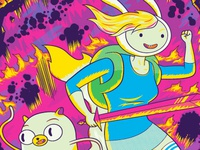 Adventure Time: Fionna & Cake Comic Cover