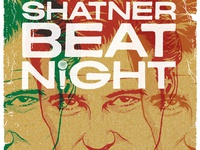 William Shatner Beat Night Poster