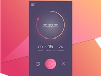 Daily ui challenge 014 - Countdown timer