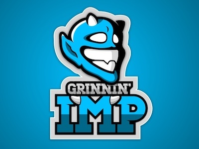 Grinnin' Imp sport sports illustration logo sports logo