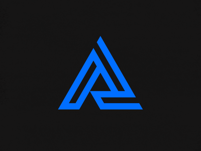 Abracon Rebrand triangle brand tech electric blue logo rebrand abracon