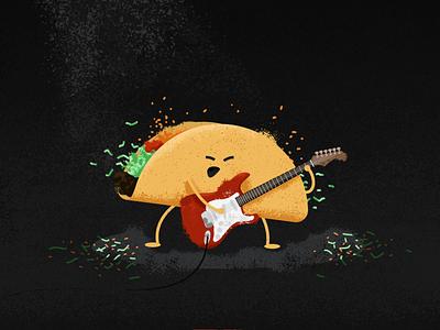 ACL Taco spotlight rock guitar lettuce