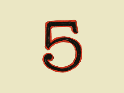 5 years! typography type 5 anniversary 5 years masonry