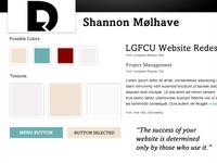 Portfolio Site Style Tile