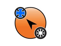 Taxi app icon