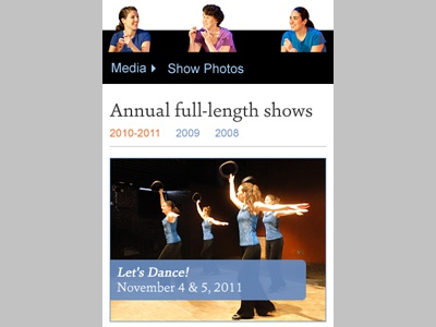 FTE Photo Gallery: Mobile web design dance mobile