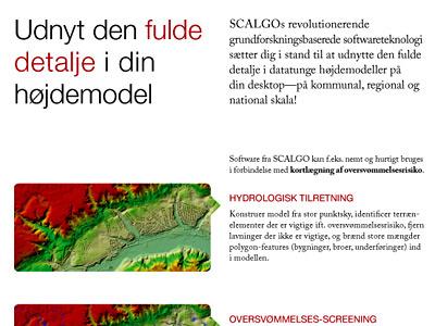 SCALGO magazine ad graphic design ad advertising big data