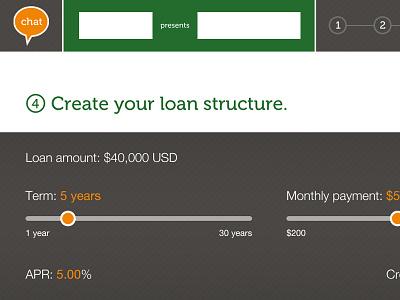 Loan app tablet app design interface user interface touchscreen