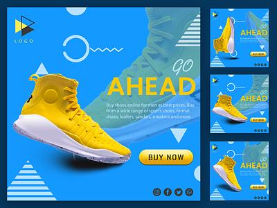 Fashion Shoes animation web icon ux ui branding