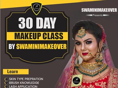 Makeup Class Poster branding