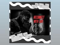 PCM Design Challenge | Reconnect with God prochurchmedia pcmchallenge social media typography art artwork church graphic design design