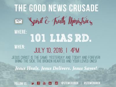 The Good News Crusade Leaflet