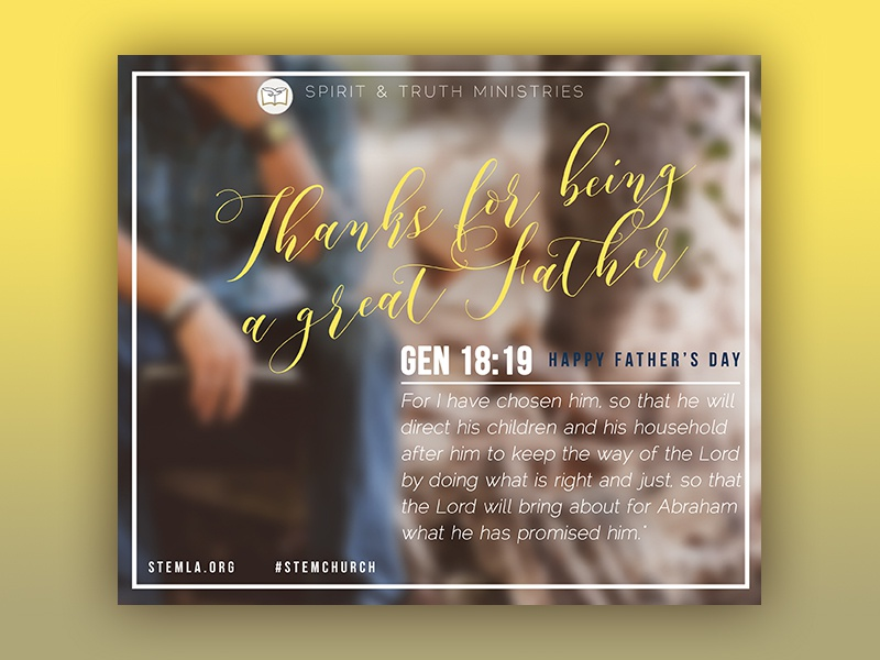 stem church father s day greetings by iris dribbble dribbble