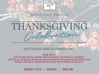 STEM Church | Thanksgiving Celebration