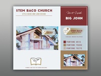 STEM BACO CHURCH | Logo Design