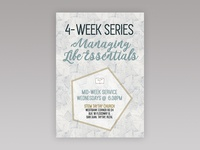 STEM Church | Life Essentials Series Poster