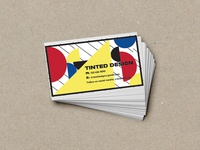 Bauhaus Style Business Cards