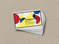 Bauhaus Style Business Cards