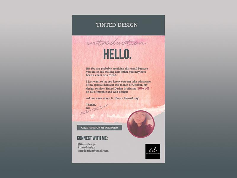 Newsletter 001 dribbble