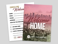 STEM Church | Welcome/New Visitors Connect Cards