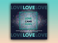PCM Design Challenge - Week 16 (Love Came Down)