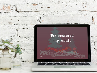 DRESS UP YOUR TECH! | He restores my soul