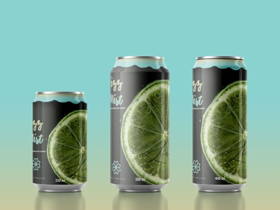 Design a Label for a Fictional Carbonated Beverage