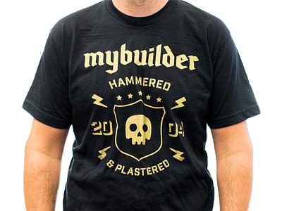 Hammered & Plastered skull mybuilder t-shirt