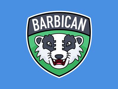 Barbican Badgers logo sports mybuilder badger barbican
