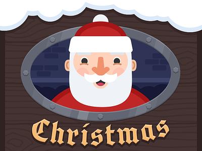 Santa illustration christmas santa