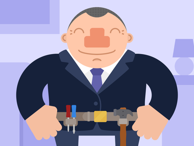 Make the most of your profile illustration purple tie tools suit builder mybuilder