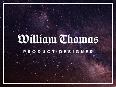 I ♥ Blackletter space blackletter designer product