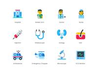 Medical Healthcare Icon Set