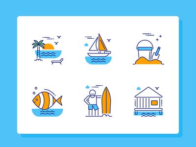 Travel Icon Set Part 1