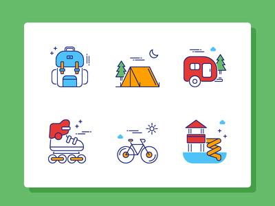 Travel Icon Set Part 2