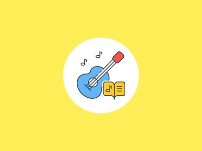 Simple Music Illustration