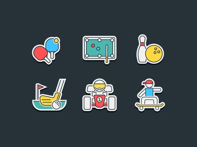 Sports & Hobbies Icon